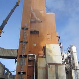 Agrium Fertilizer Tower (Re-cladding project)